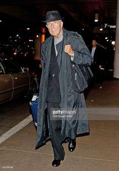 Photo d'actualité : Leonard Cohen is seen at Los Angeles...