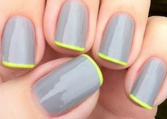 minimalism  #nail #nail art