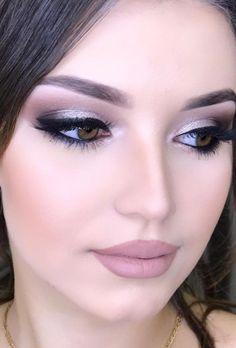 Gorgeous Makeup: Tips and Tricks With Eye Makeup and Eyeshadow – Makeup Design Ideas Beautiful Eye Makeup, Natural Eye Makeup, Natural Eyes, Cute Makeup, Makeup Looks, Amazing Makeup, Simple Makeup, Glam Makeup, Pretty Makeup