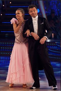2009 Winners of Strictly Come Dancing - Chris Hollins and Ola Jordan. Strictly Dancers, Strictly Come Dancing, Lucky Man, Dancing With The Stars, Tv On The Radio, Dance Outfits, Frocks, Nice Dresses