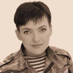 """Ukrainian pilot and people's deputy Nadiya Savchenko, located in the Moscow jail, in the letter urged to support her in action March 1 """"Thank you very much for everything. For all the support and fight you for taking me. I in my wildest thoughts could not count on such assistance. I too am struggling. And do not give up. And will not give up """"- she wrote #FreeSavchenko"""