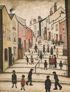 Crowther Street, Stockport, Cheshire - L S Lowry