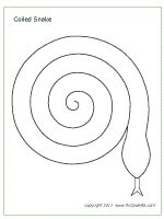 Spiral Craft for grade: Coloring, cutting, animals, reptiles, patterns.I can think of so many ways to use this. Reptile Crafts, Snake Crafts, Toddler Crafts, Preschool Crafts, Reptiles, Amphibians, Templates Printable Free, Printables, Snake Party