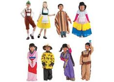 Multicultural dress up kit for role play-Early childhood educational…