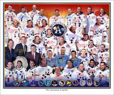 The Astronauts of Apollo by markkarvon.deviantart.com on @DeviantArt