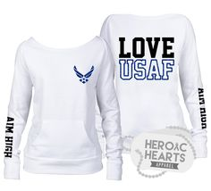 Heroic Hearts Apparel - Custom and unique military and law enforcement love and support apparel.