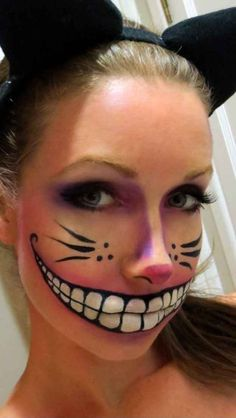 And a more traditional Cheshire cat.
