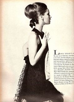 Celia Hammond - US Vogue February 15, 1966 | by ilookatyouwithfeelings