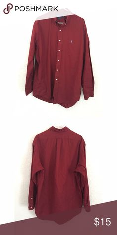 Ralph Lauren Button Up Ralph Lauren Button Up (Blake) Ralph Lauren Shirts Casual Button Down Shirts