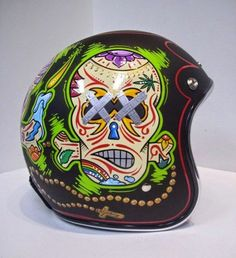 16 Best Old School Motorcycle Helmets images  76b0e0271f937