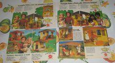 """rare..... 25 italians advertising - pubblicità """"THE SUNSHINE FAMILY"""" Mattel 1975"""