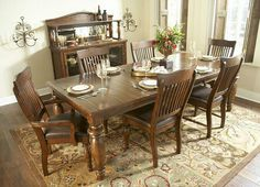 Havertys 1399 With 4 Side Chairs Woodbridge At Haverty S