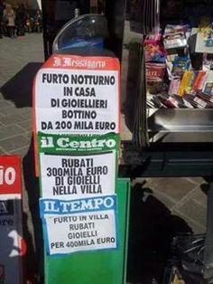 La verità dei giornali