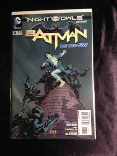 The New 52! Batman #8. DC Comic Book. Scott Snyder. Greg Capullo First Print