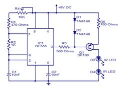 Mp3302 functional block diagram learning pinterest circuit fun circuitlearn how to jam a remote using simple circuit ccuart Images