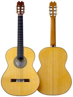 #flamenco #guitar MIGUEL MOLERO #handcrafted #cypress model at El Flamenco Vive