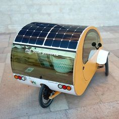 mö, triciclo biplaza BIO-HÍBRIDO solar urbano.