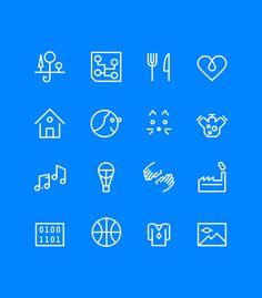 Sinivalkoinen valinta icons by Marko Myllyaho, #icons