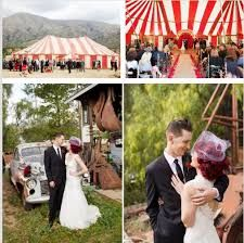 Resultado de imagem para casamento circense