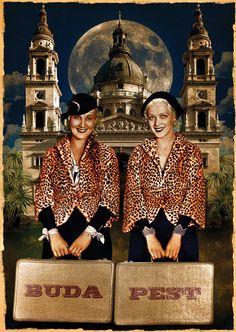 Postcard - Budapest - Basilica. Ft400.00, via Etsy.