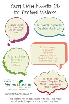 Young Living Essential Oils for Emotional Well-Being  | For more info, visit:  http://www.thesavvyoiler.com/