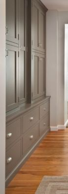 Grey with deep drawers
