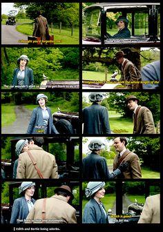 Downton Abbey ..last Season, Edith and Bertie ..