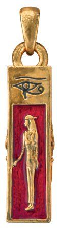 Egypt Egyptian Isis Pendant Necklace Jewelry Accessory $12.10