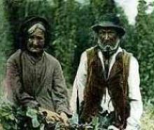 Elderly Traveller couple