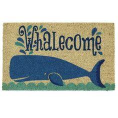 Whalecome Doormat