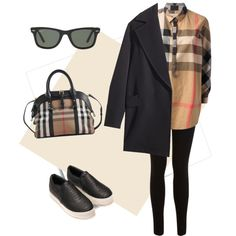 A fashion look from November 2014 featuring Burberry tops, H&M coats and Miss Selfridge jeans. Browse and shop related looks.