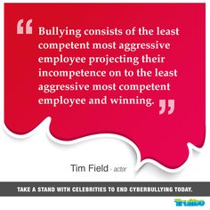 Take a stand with celebrities to end #Cyberbullying today! #TimField