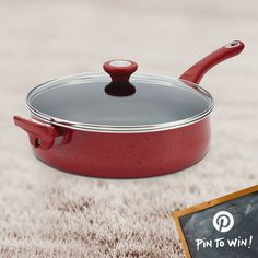 PIN TO WIN: Farberware® New Traditions Speckled Aluminum Nonstick 5-Quart Jumbo Cooker