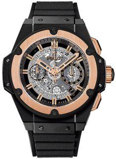 Hublot King Power UNICO Ceramic Black Magic 701.co.0180.rx Watch Retails $29,800 #Hublot #LuxurySportStyles