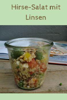 Hirse-Salat mit Linsen