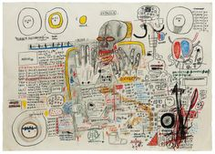 Jean Michel Basquiat - Untitled (Estrella) (1985)