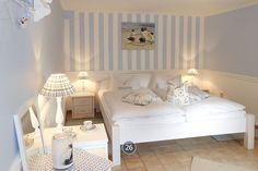 Schlafraum zum Träumen. Ferienwohnung für 2 Personen in Haus Midsommer. Timmendorfer Strand.