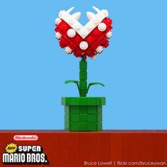 LEGO Piranha Plant from New Super Mario Bros