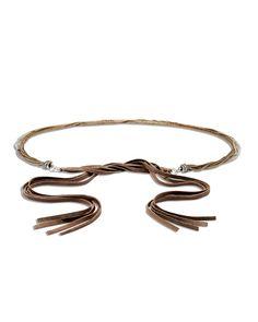 Chico's Women's Anna Chain Belt