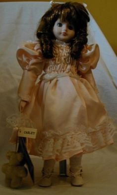 seymour mann porcelain dolls   Seymour Mann's Collector Porcelain Doll