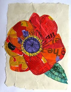 Seven Reasons Why People Like Mixed Media Artists Flowers Collage Art Mixed Media, Mixed Media Artists, Spring Art, Art Journal Inspiration, Paper Art, Paper Collages, Canvas Paper, Art Plastique, Elementary Art