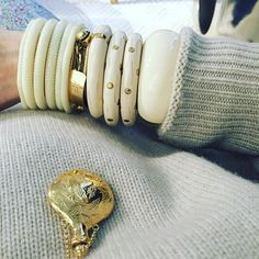 My right wrist. #aureliebidermann #aureliebidermannfine #bracelet…