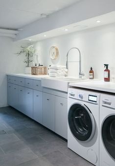 House of Philia Laundry Design, Laundry Room, Storage House, Bathrooms Remodel, House Of Philia, Interior Design Kitchen, Laundry In Bathroom, Interior Design Kitchen Small, Room Design