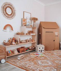 Playroom and Nursery Inspo Playroom Organization, Playroom Decor, Nursery Decor, Nursery Ideas, Girl Room, Baby Room, Montessori Playroom, Toddler Playroom, Toy Rooms