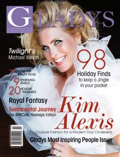 Gladys Magazine Holiday 2009 Kim Alexis
