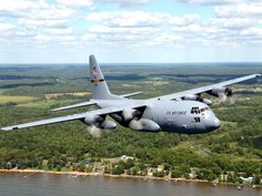 Lockheed C-130 Hercules My assigned aircraft as a flight surgeon in the Philippines in the late 1970's