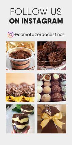 Aprenda a Fazer Brigadeiro Gourmet - Como Fazer Doces Finos Brigadeiro Recipe, Chocolate, Ale, Breakfast, Desserts, Recipes, Food, Yummy Recipes, Dessert Recipes