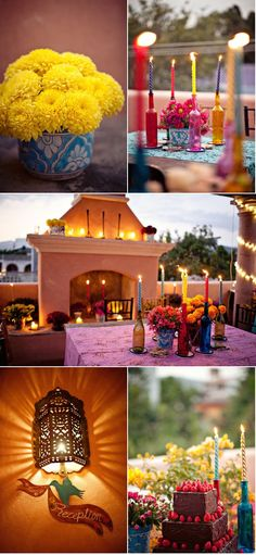 Wedding Designs - Mexico Wedding by Elizabeth Lloyd Cute Wedding Dress, Fall Wedding Dresses, Colored Wedding Dresses, Wedding Reception, Our Wedding, Dream Wedding, Destination Wedding, Seaside Wedding, Wedding Rehearsal