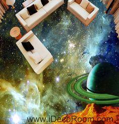Saturn Planet Nebula 00071 Floor Decals Wallpaper Wall Mural Stickers Print Art Bathroom Decor Living Room Kitchen Waterproof Business Home Office Gift 3d Wallpaper For Walls, Floor Wallpaper, Wallpaper Online, Custom Wallpaper, 3d Wall Murals, Floor Murals, Floor Art, Wall Decals, Living Room Kitchen