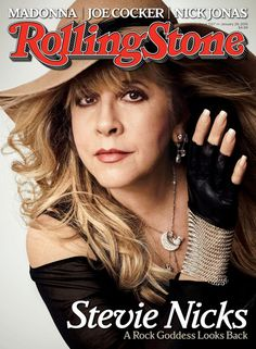 Stevie Nicks on the January 29, 2015 cover.
